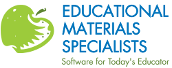 EMS:  Education Materials Specialists, Inc. Logo